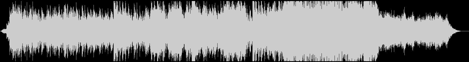 退廃的なホラーBGMの未再生の波形
