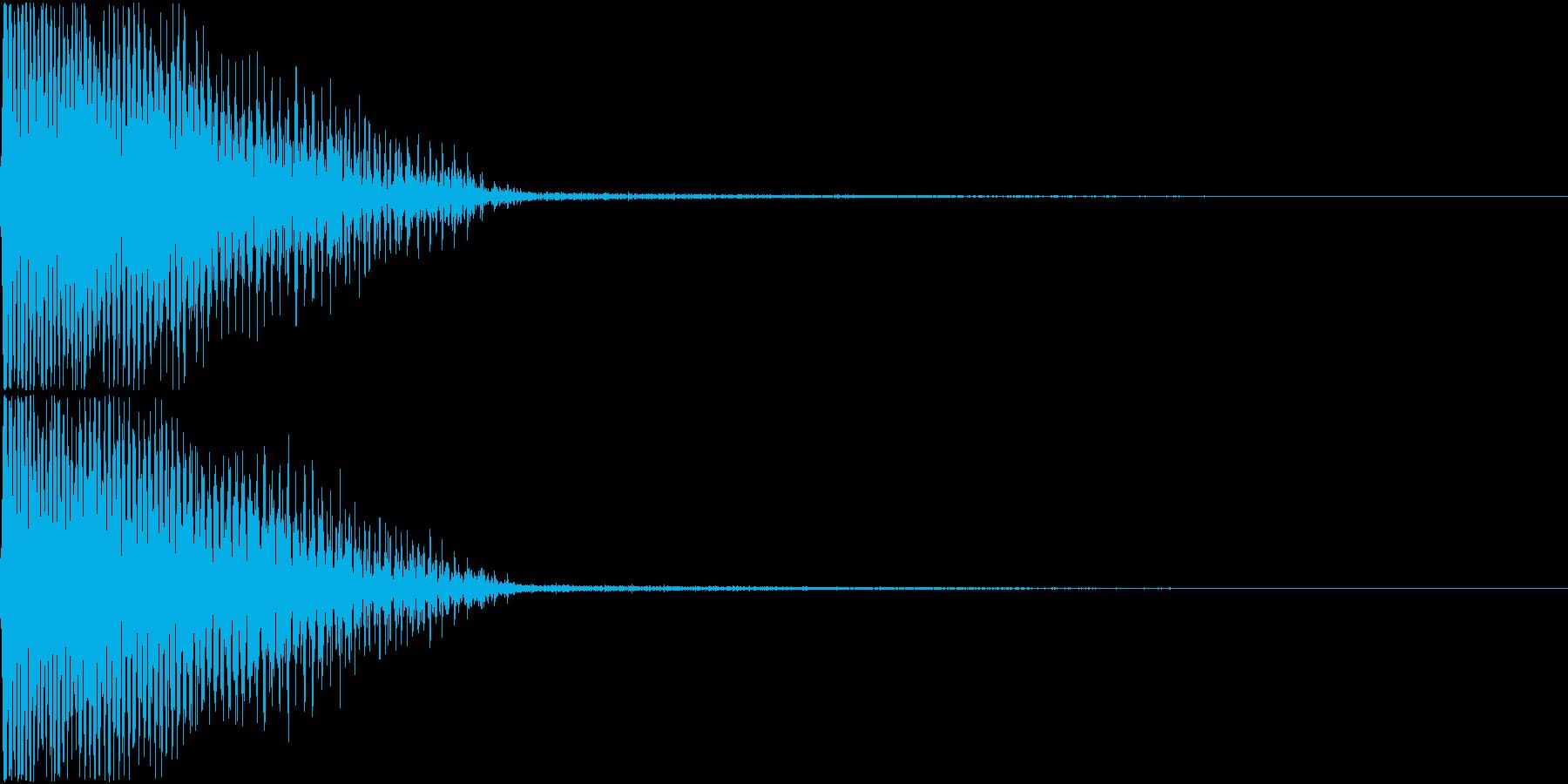 InvaderBuzz 発砲音 20の再生済みの波形