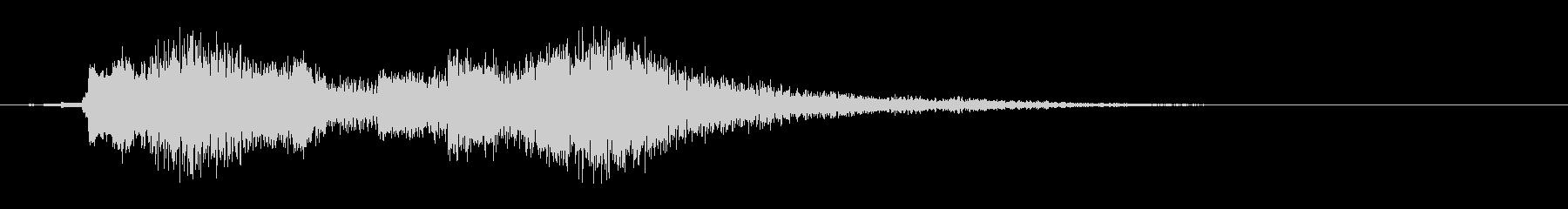 企業サウンドロゴ オーケストラ 口笛の未再生の波形