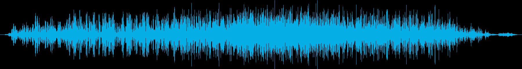 モンスター 威嚇 04の再生済みの波形