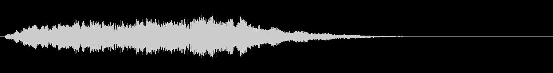 素材 ソフトハムドローンハイ01の未再生の波形