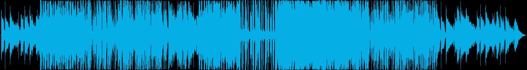 未来の音楽フューチャーベースの再生済みの波形