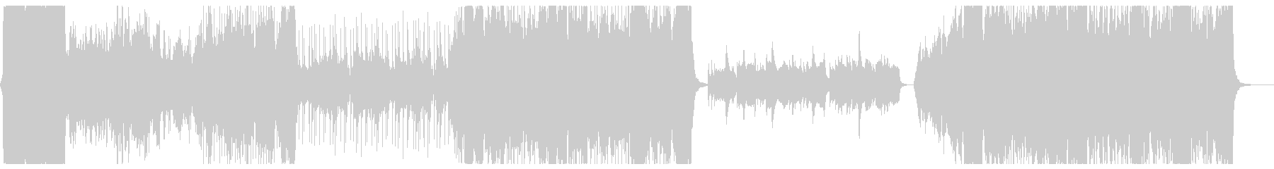 冒険の始まりをイメージしたオーケストラ2の未再生の波形