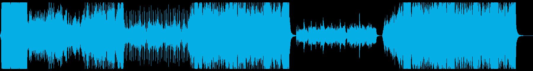 冒険の始まりをイメージしたオーケストラ2の再生済みの波形