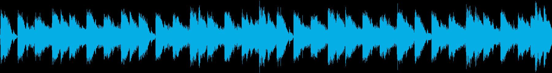 80年代のテクノポップ風ジングル_ループの再生済みの波形