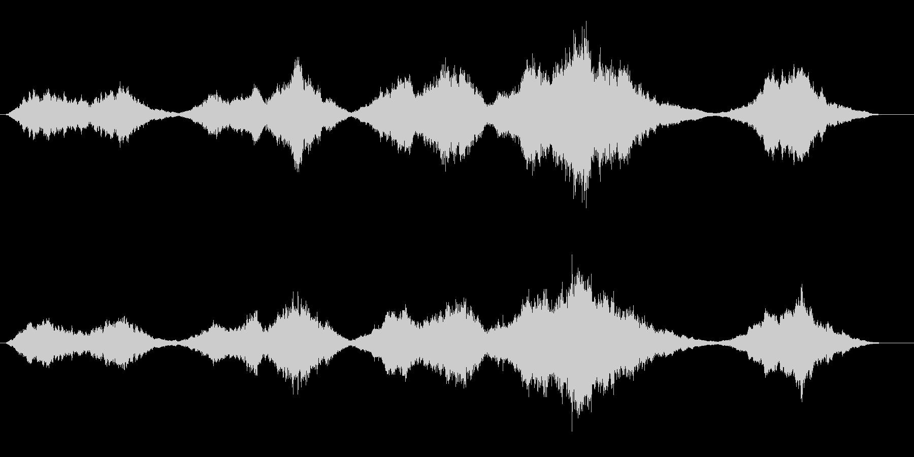 ストリングス主体の感動的なBGMの未再生の波形