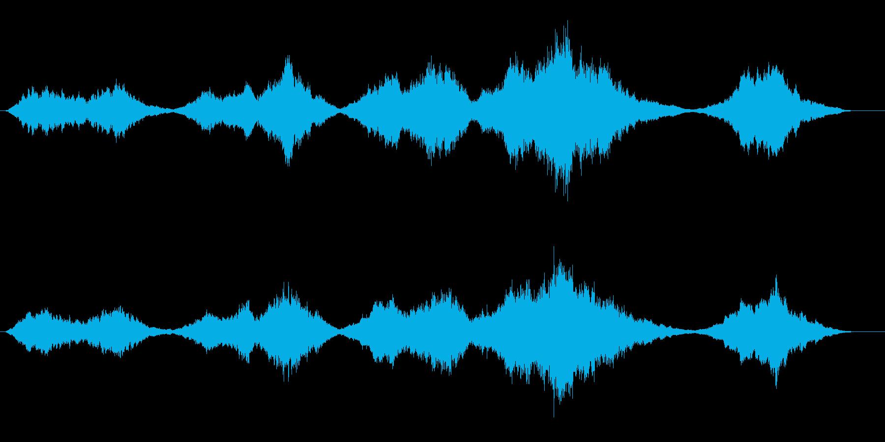 ストリングス主体の感動的なBGMの再生済みの波形