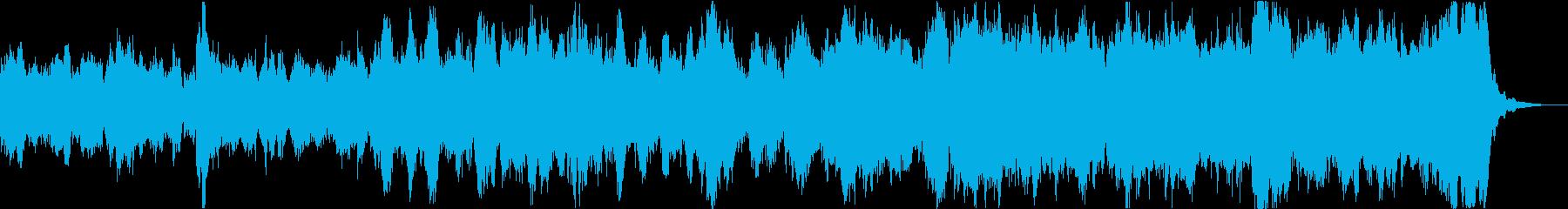 アフリカゾウ等のイメージに合うBGMの再生済みの波形