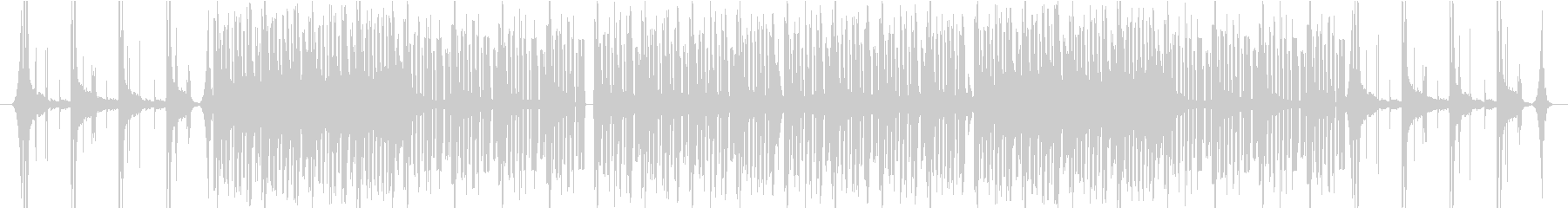ピアノとストリングスの緊迫したBGMの未再生の波形