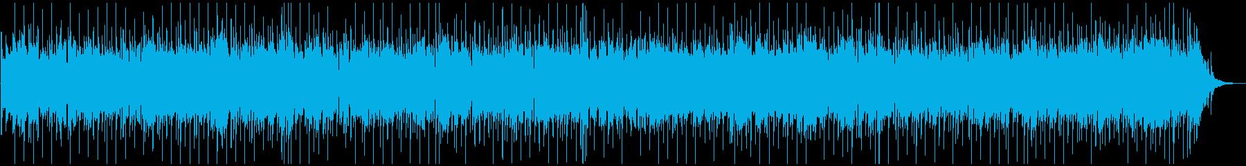 ピアノ、バンジョー、カントリーロックの再生済みの波形