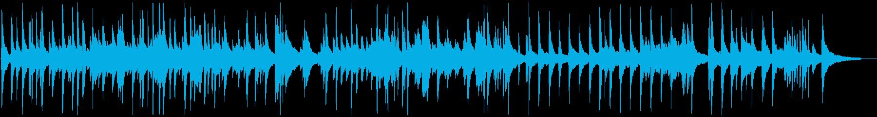 切ないがどこか始まりを感じさせるBGMの再生済みの波形