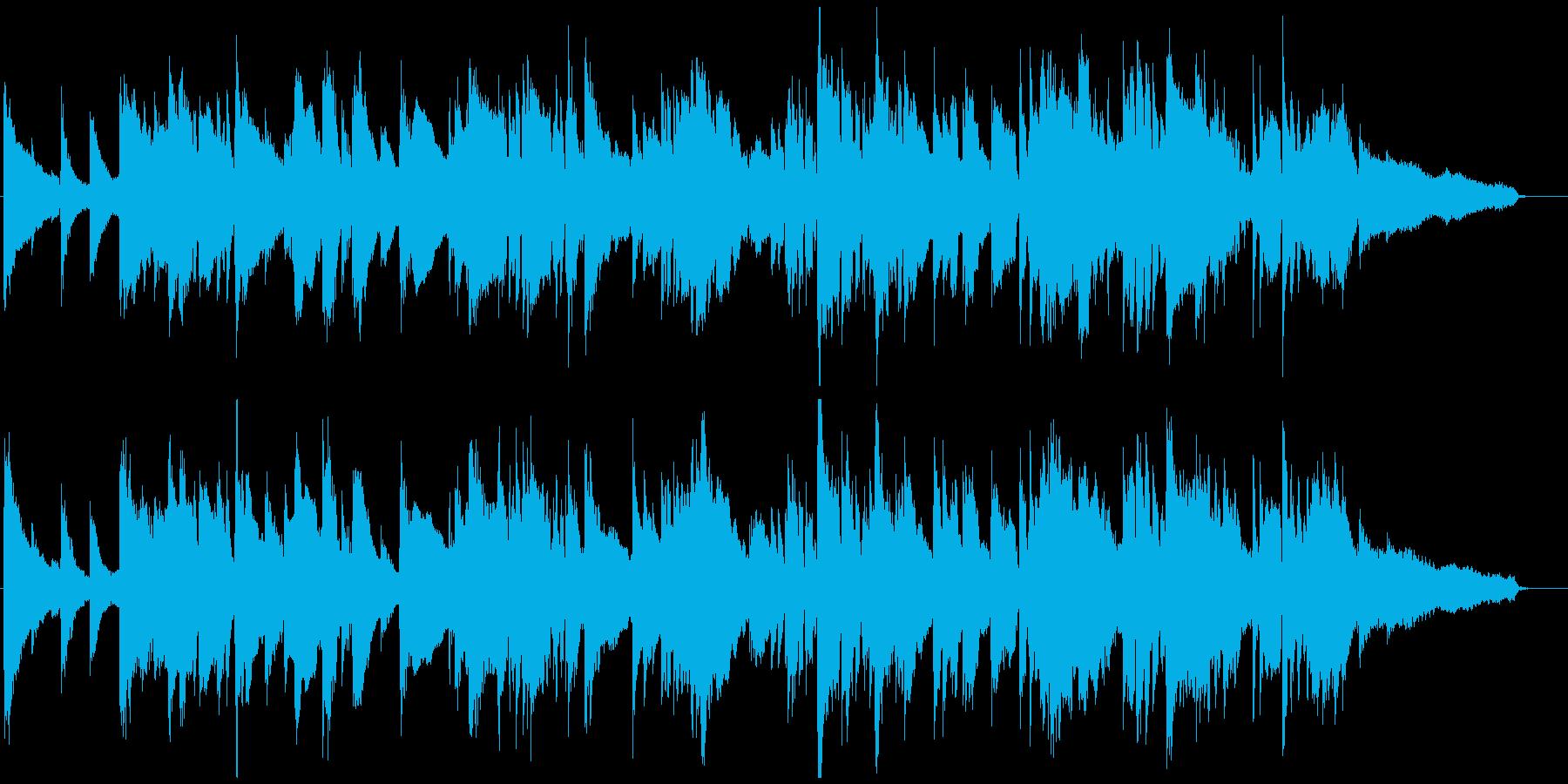 哀愁、悲しみのジャズバラード ※60秒版の再生済みの波形