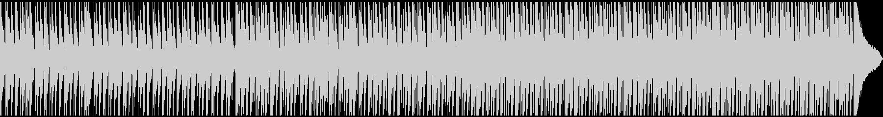 中〜アップテンポのデジタル溝入れ。...の未再生の波形
