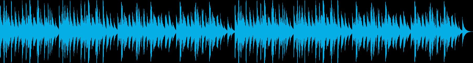 オルゴール 癒し 可愛い ヒーリングの再生済みの波形