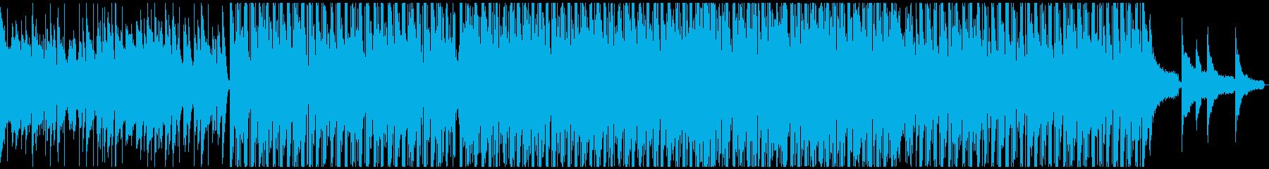なんだか楽しい気持ちになる曲の再生済みの波形