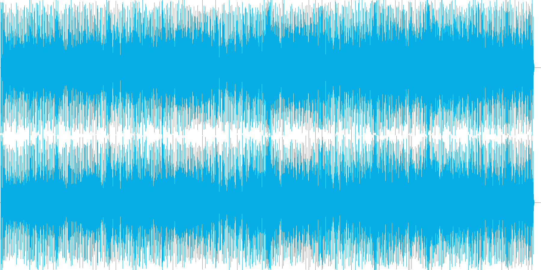 ほのぼのまったりしたイージーフュージョンの再生済みの波形