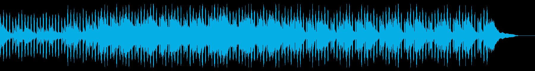 報道ニュース原稿ピアノトランス汎用BGMの再生済みの波形