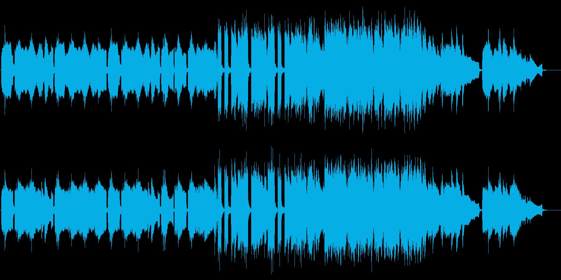 笛がメインの切なくメロディアスな和風曲の再生済みの波形