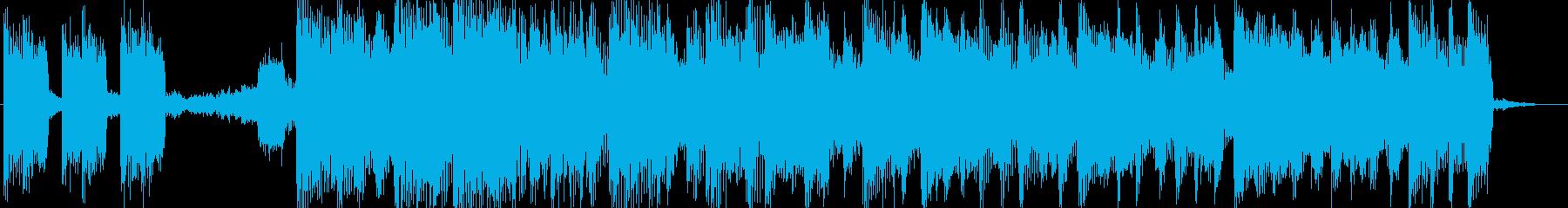出囃子、ジングルサマー音源の再生済みの波形
