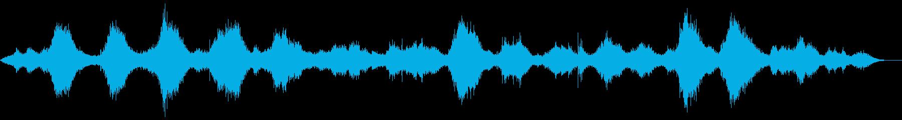 ザバーンの再生済みの波形