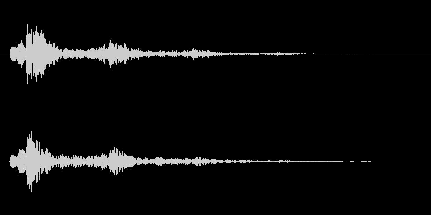 【ショートブリッジ01-2】の未再生の波形