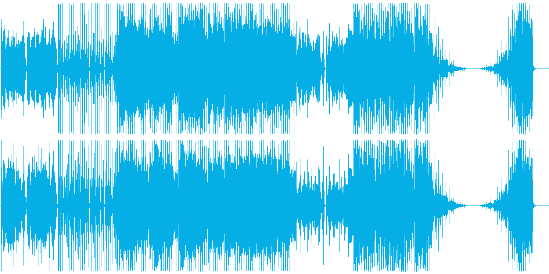 Bellの再生済みの波形