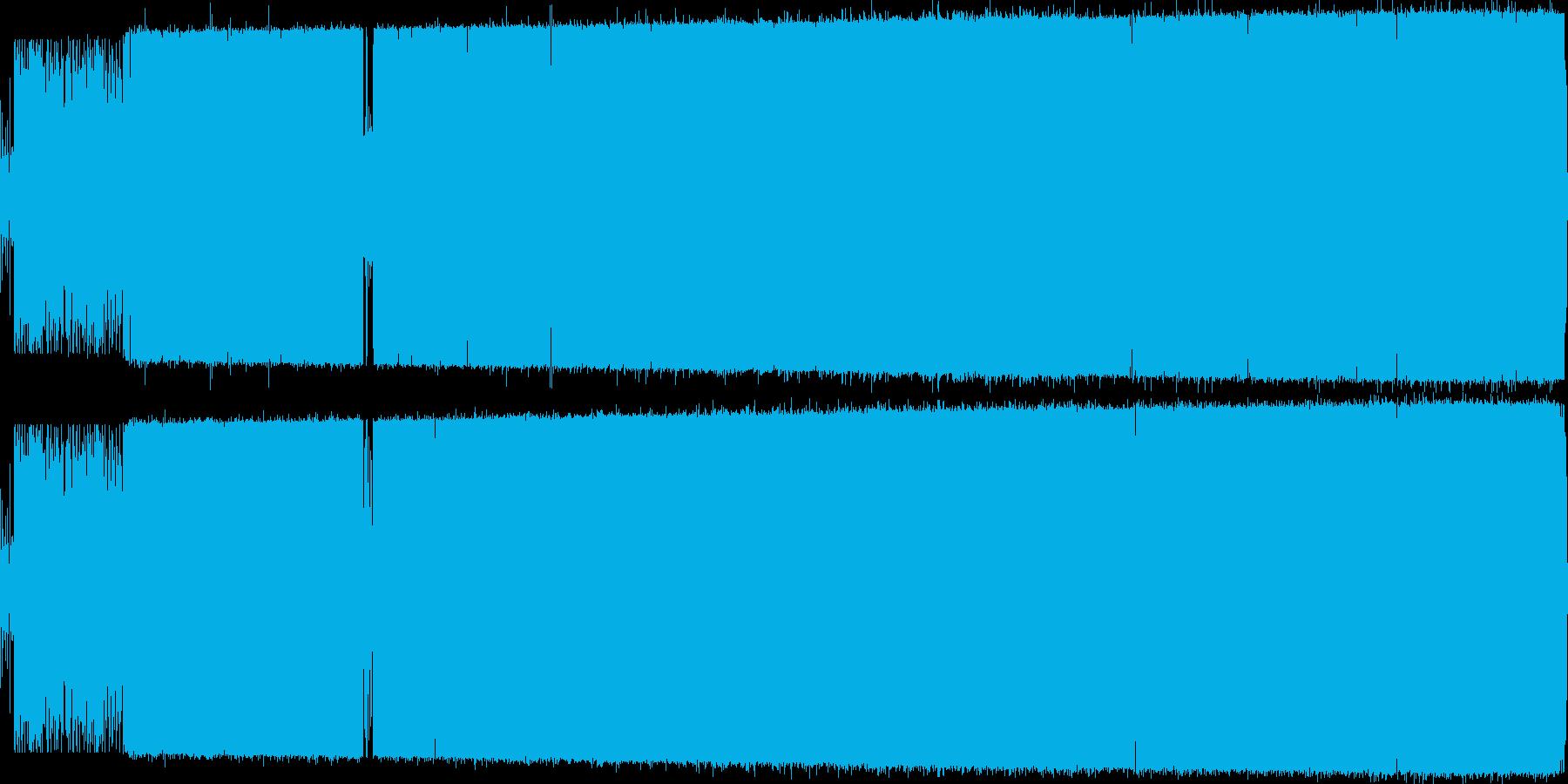 オシャレでノリの良い日本語ラップの再生済みの波形