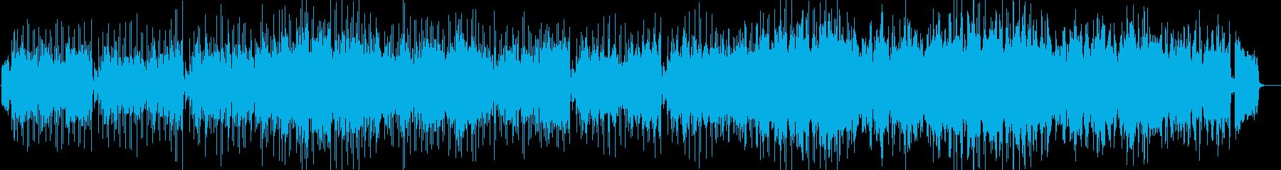 昭和のムード歌謡風の曲の再生済みの波形