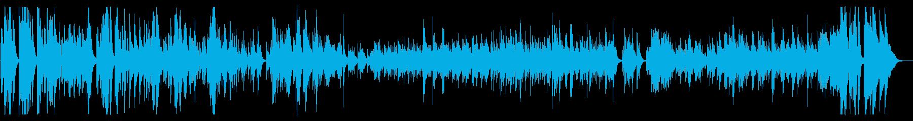 ブラームスのソナタの再生済みの波形