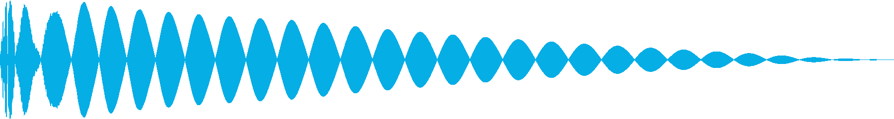 DTM Kick 95 オリジナル音源の再生済みの波形
