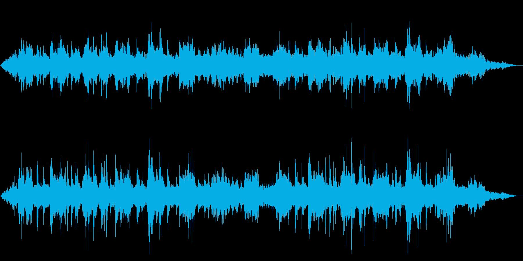 朝焼けの海 ヒーリングミュージックの再生済みの波形