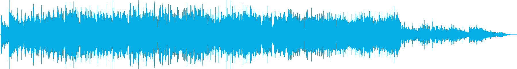 別れの場面をイメージしたインストバラードの再生済みの波形