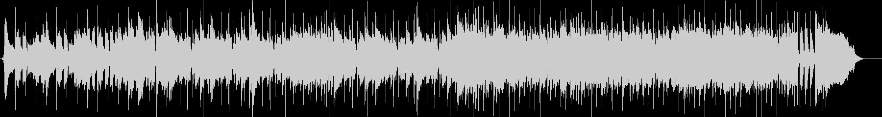CM、スラップベースでの高揚感ある楽曲の未再生の波形
