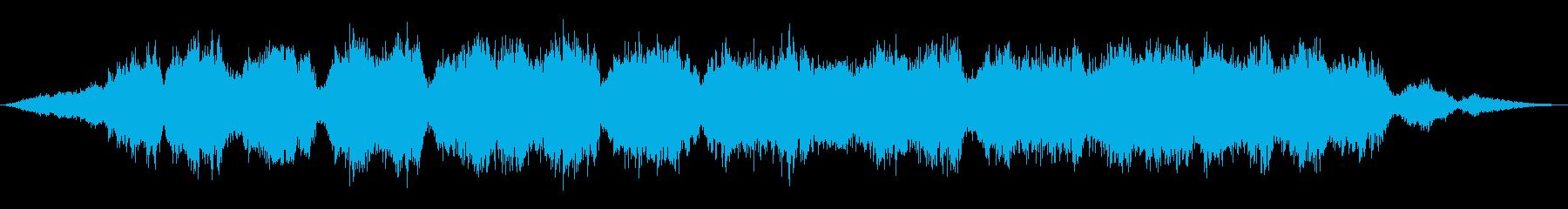 口ISTを吹く空間風の再生済みの波形