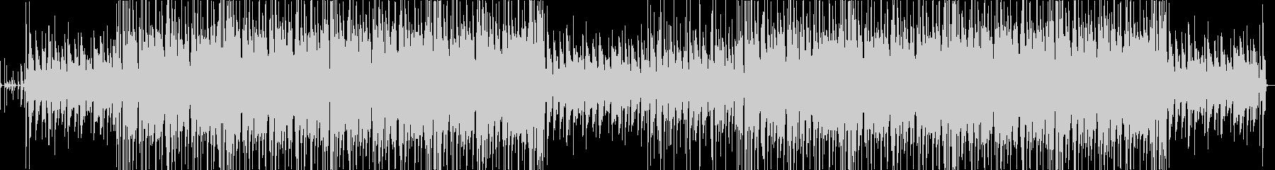 ほのぼの系アコースティックポップスの未再生の波形