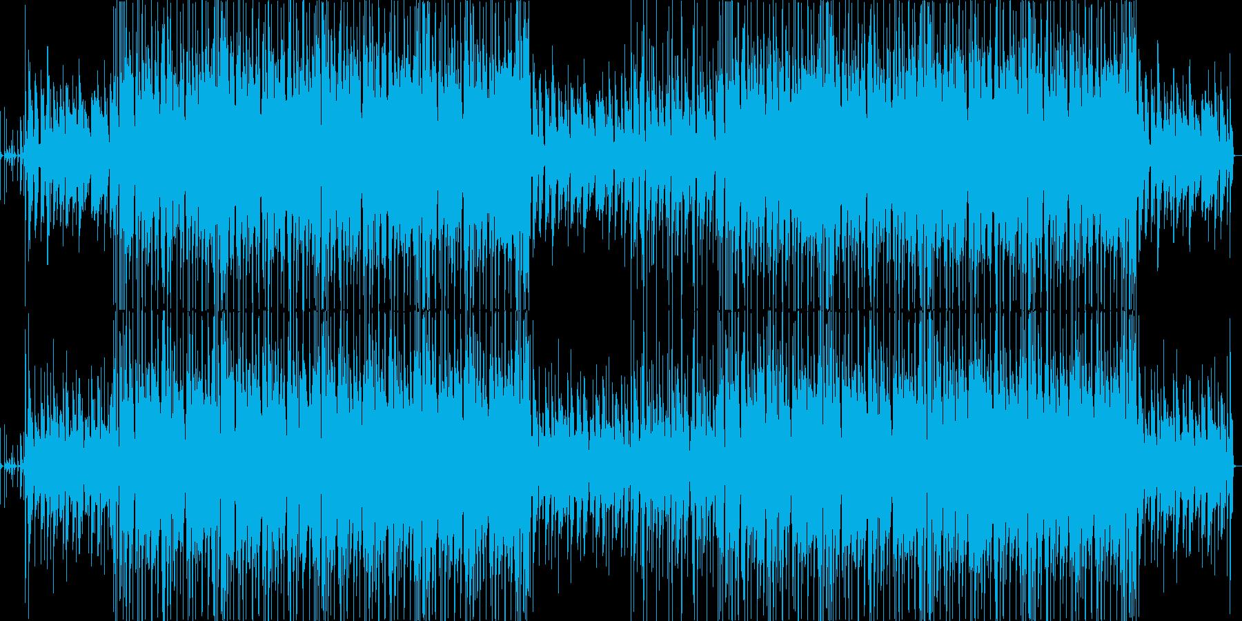 ほのぼの系アコースティックポップスの再生済みの波形