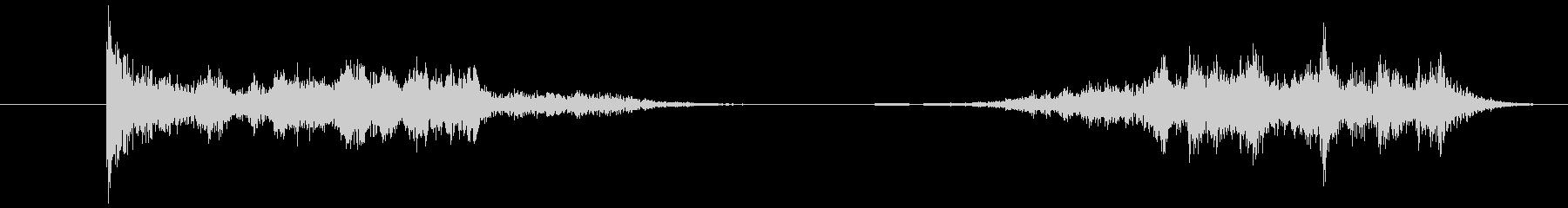 2本の剣:ストライクアンドスクレイ...の未再生の波形