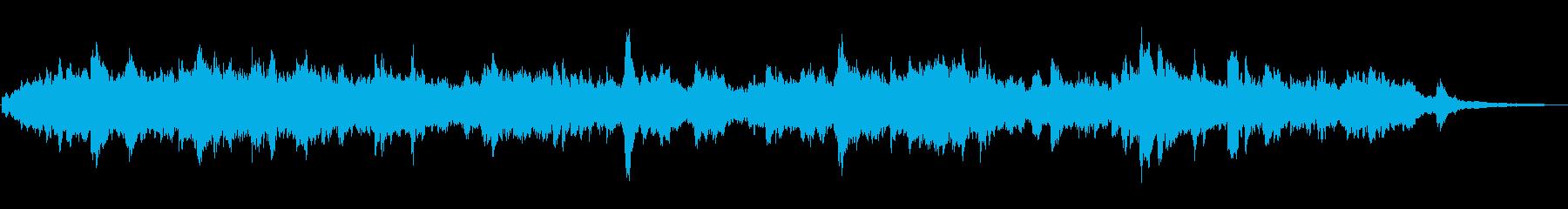 ドラマしっとり感動シーンオーケストラの再生済みの波形