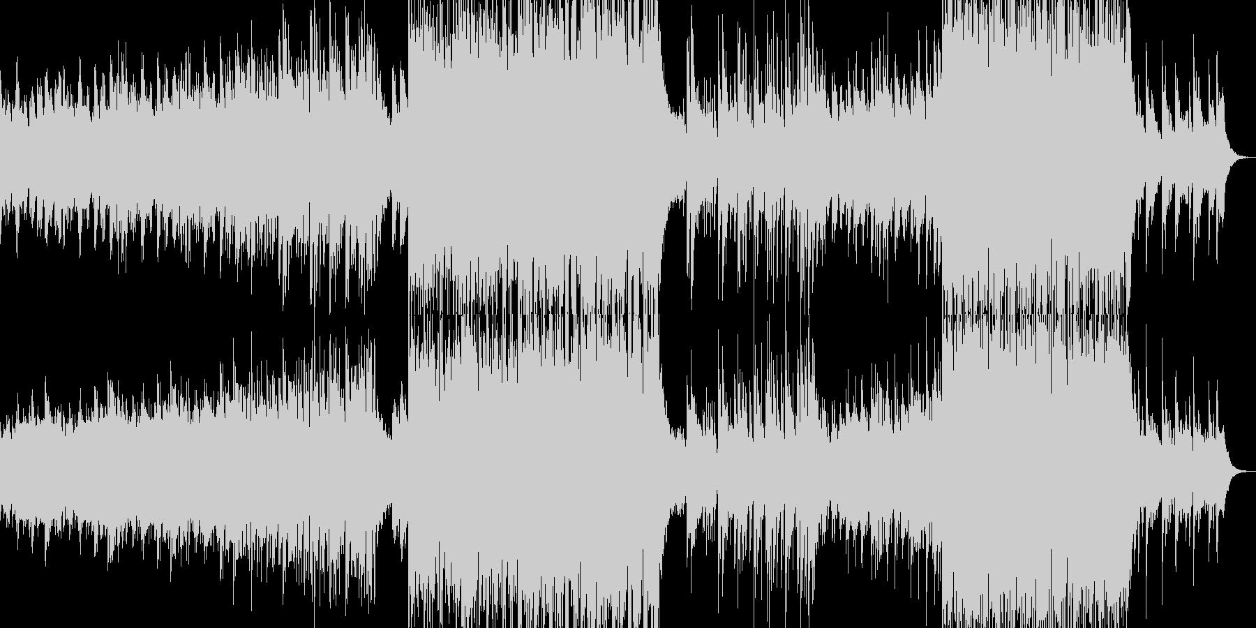背景的音楽ー菊の未再生の波形