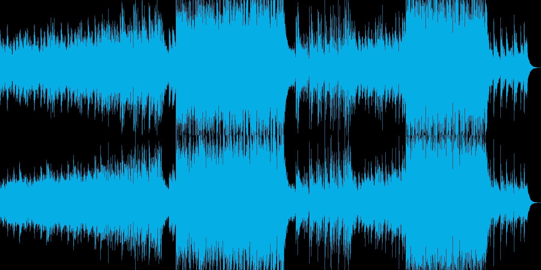 背景的音楽ー菊の再生済みの波形