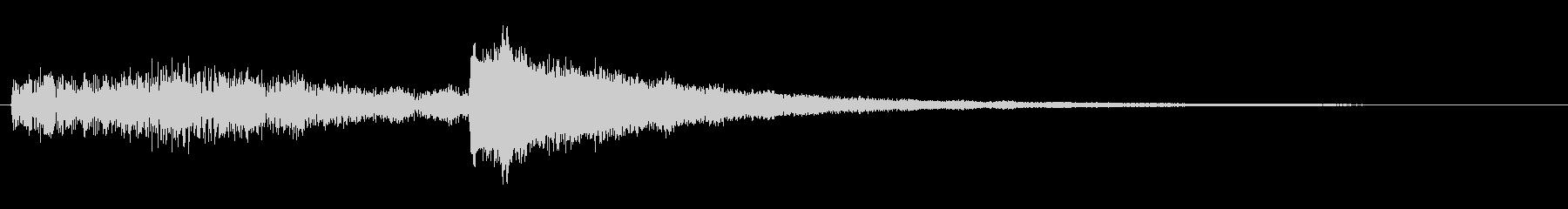 幻想的なシンセベル【サウンドロゴなど】の未再生の波形