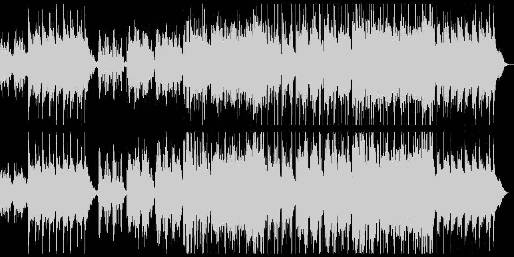 爽やかなゆったりピアノチルアウト。の未再生の波形