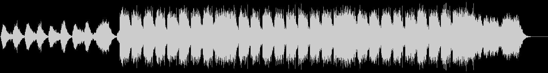 ネイチャー系BGMの未再生の波形