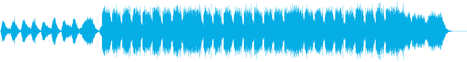 ネイチャー系BGMの再生済みの波形