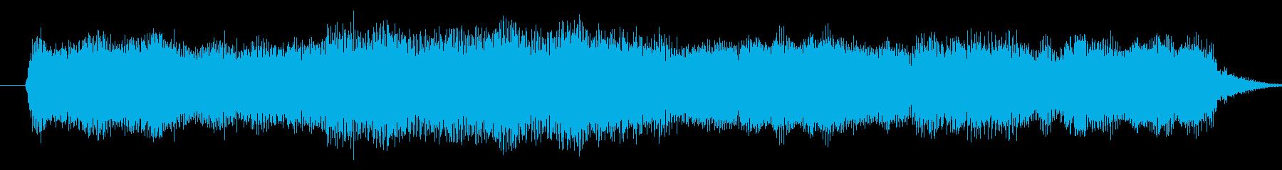 人物登場時などのジングルの再生済みの波形