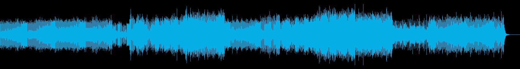 近未来 幻想的 エレガント ハウスの再生済みの波形