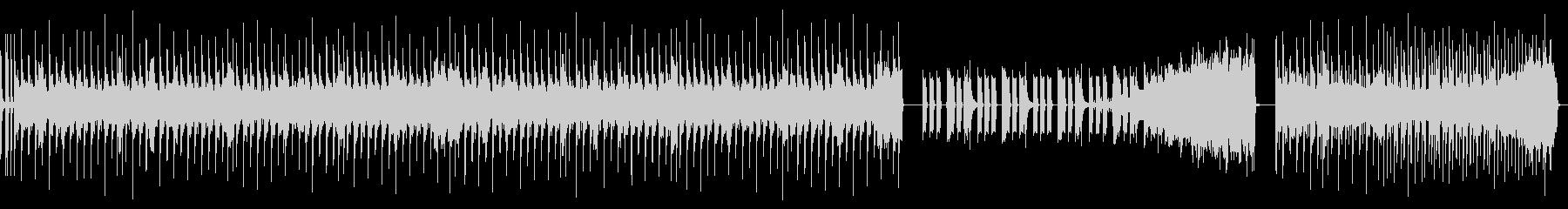 奇抜でキャッチーなベースサウンドの未再生の波形