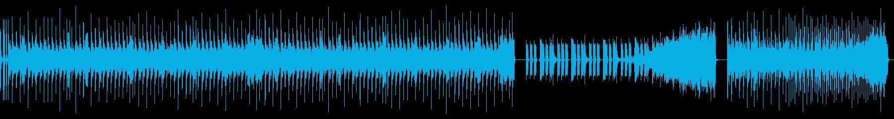 奇抜でキャッチーなベースサウンドの再生済みの波形