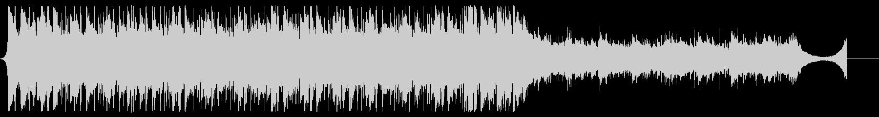 アコギが爽やかなJPOP風BGM60秒の未再生の波形