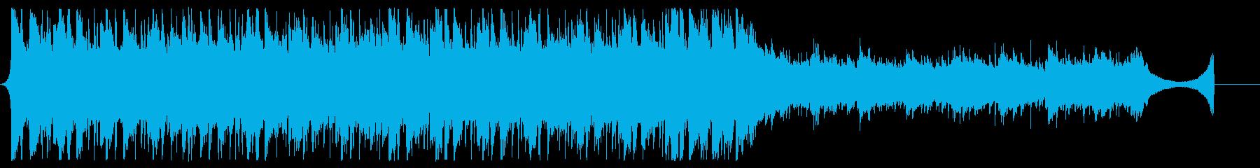 アコギが爽やかなJPOP風BGM60秒の再生済みの波形